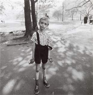 DIANE ARBUS - Child with Toy Hand Grenade, NYC, 1962