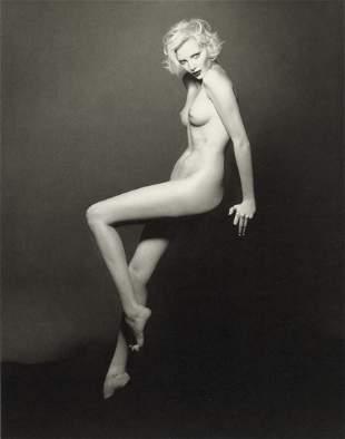 PATRICK DEMARCHELIER - Nadja Auermann, Paris, 1994