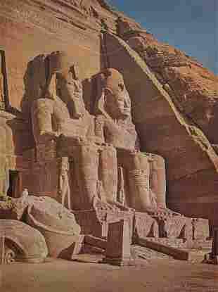 ELIOT ELISOFON - Abu Simbel, Egypt