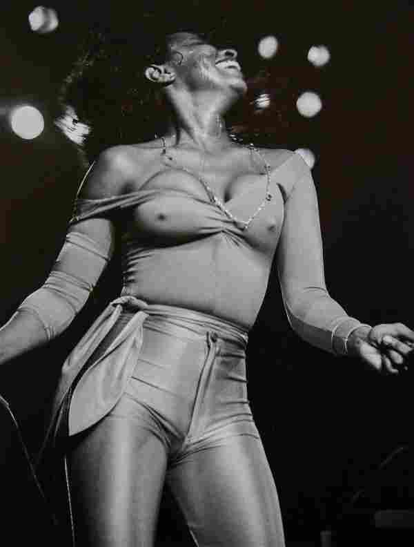 LYNN GOLDSMITH - Chaka Khan, New York City, 1978