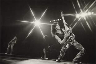 LYNN GOLDSMITH - Eddie Van Halen, Los Angeles, 1979
