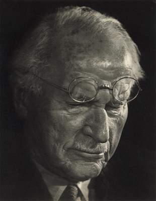 YOUSUF KARSH - Carl Gustav Jung