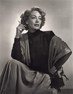 YOUSUF KARSH - Joan Crawford, 1948
