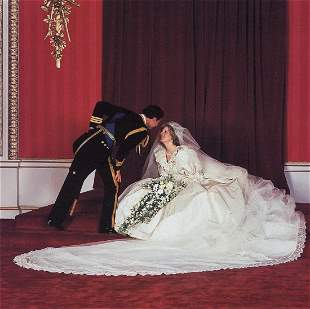 PATRICK LICHFIELD - The Royal Wedding, 1981