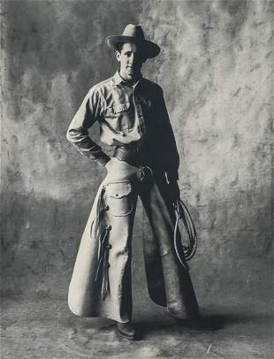 IRVING PENN - Cowboy, New York, 1951