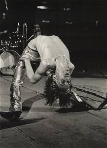 MICK ROCK - Iggy Pop, King's Cross Cinema, 1972