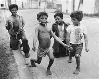 SABINE WEISS - Children Playing, Spain