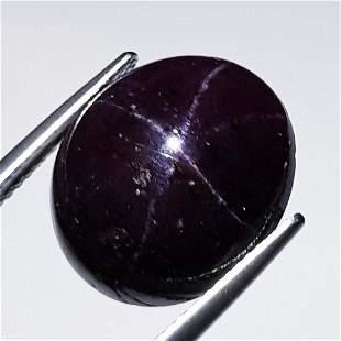 Natural Six Ray Star Garnet 22.50 ct