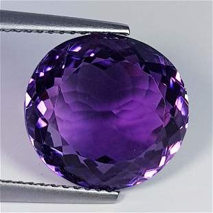 Natural Amethyst Oval Cut 9.04 ct