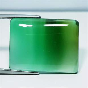30.90 Ct Natural Green Agate