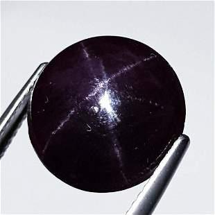 Natural Six Ray Star Garnet 13.65 ct