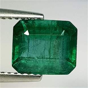 Natural Emerald Octagon Cut 2.45 ct