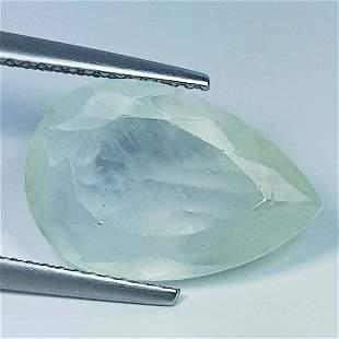 Natural Aquamarine Pear Cut 6.05 ct