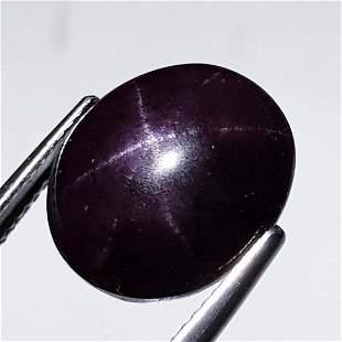 Natural Six Ray Star Garnet 18.70 ct
