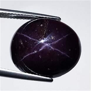 Natural Four Ray Star Garnet 32.30 ct