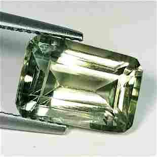 Natural Green Amethyst Fancy Cut 4.66 ct