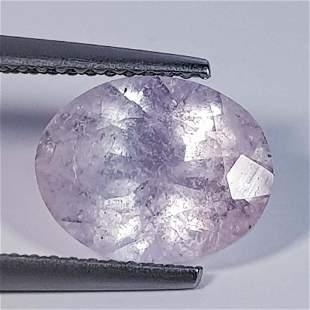 2.56 ct Natural Pink Morganite Oval Cut