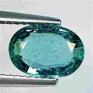Natural Emerald Oval Cut 1.42 ct