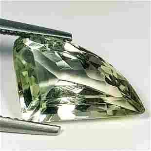 Natural Green Amethyst Fancy Cut 4.36 ct
