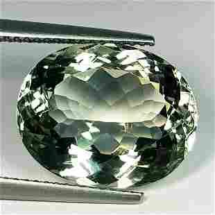 Natural Green Amethyst Oval Cut 10.00 ct