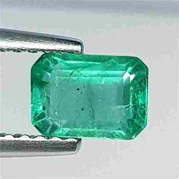 Natural Emerald Octagon Cut 0.94 ct
