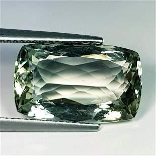 Natural Green Amethyst Cushion Cut 10.90 ct
