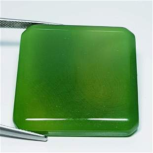 59.72 Ct Natural Green Agate