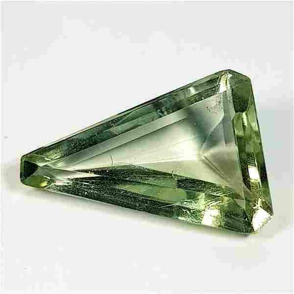 Natural Green Amethyst Fancy Cut 4.87 ct