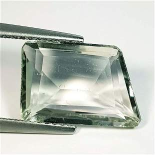 Natural Green Amethyst Fancy Cut 5.44 ct