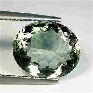 Natural Green Amethyst Oval Cut 6.20 ct