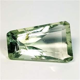 Natural Green Amethyst Fancy Cut 3.63 ct