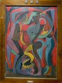 Painting Naked girls Alexander Nikolaevich Volkov