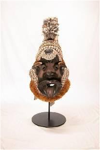Gerre Mask w/Cowry Shell