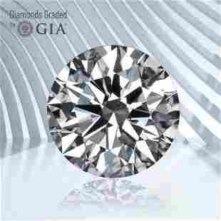 1.00 ct, Color E/VS2, Round cut GIA Graded Diamond