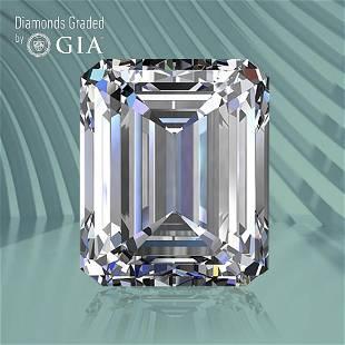 2.01 ct, Color H/VS1, Emerald cut GIA Graded Diamond