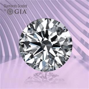 1.01 ct, Color E/VVS2, Round cut GIA Graded Diamond