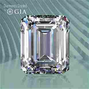 1.03 ct, Color F/VS1, Emerald cut GIA Graded Diamond
