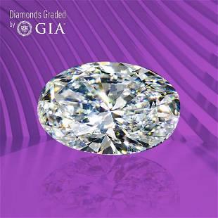 1.50 ct, Color H/VVS1, Oval cut GIA Graded Diamond
