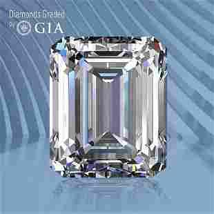 0.50 ct, Color D/VVS1, Emerald cut GIA Graded Diamond