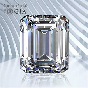 0.50 ct, Color F/VVS2, Emerald cut GIA Graded Diamond