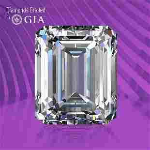 1.01 ct, Color F/VS1, Emerald cut GIA Graded Diamond