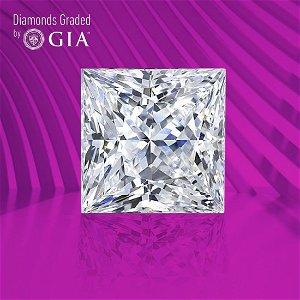 1.07 ct, Color E/VS1, Princess cut GIA Graded Diamond