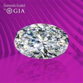 3.05 ct, Color E/FL, Oval cut GIA Graded Diamond