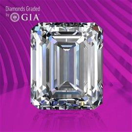 3.04 ct, Color E/VS1, Emerald cut GIA Graded Diamond