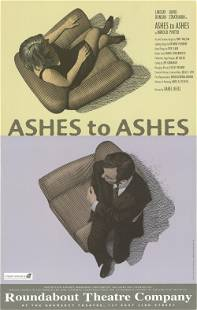 Scott McKowen - Ashes to Ashes - 1996 Offset Lithograph