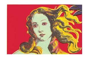 Andy Warhol - Birth of Venus-Red - 2000 Offset