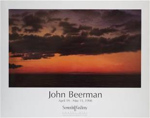 John Beerman - Dusk, Green Bay - 1998 Offset Lithograph