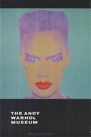 "Andy Warhol - Grace Jones - 1992 Offset Lithograph 50"""