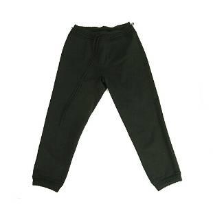 Alaia Black Viscose Leggings Cropped trousers pants