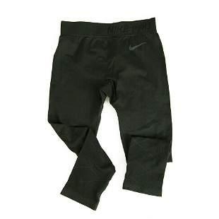Nike Dri-Fit Black Leggings Sport Track Trousers Pants